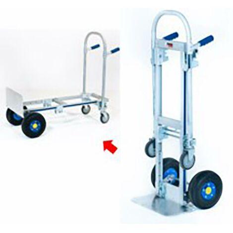 Chariot de stockage multifonctionnel 200Kg de charge Aluminium Carrivan 1 Unité Cb200