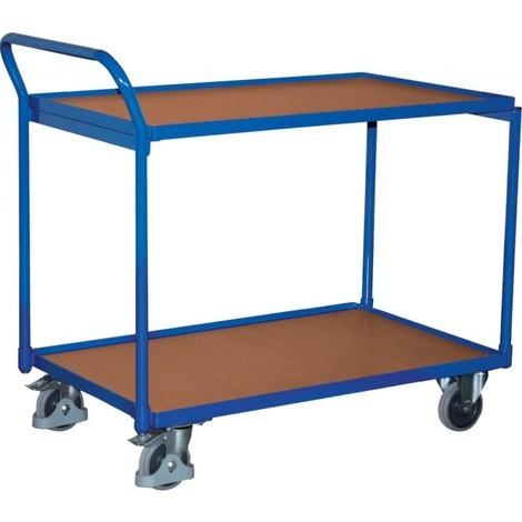 Chariot de transport 250 kg 1000x600 mm 2 plateaux