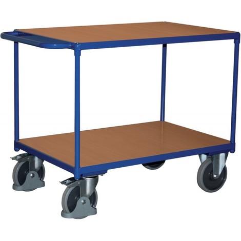 Chariot de transport 500 kg 1000x700 mm 2 plateaux