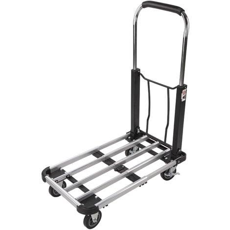 Chariot de transport en alu pliable - Diable - charge max. 150 kg