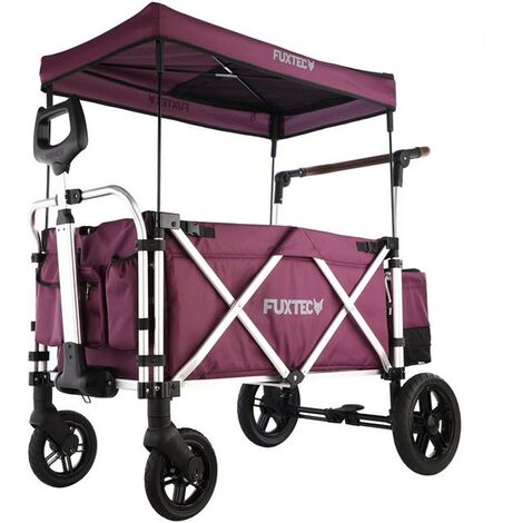 Chariot de transport pliable enfant de luxe FUXTEC FX-CTL900