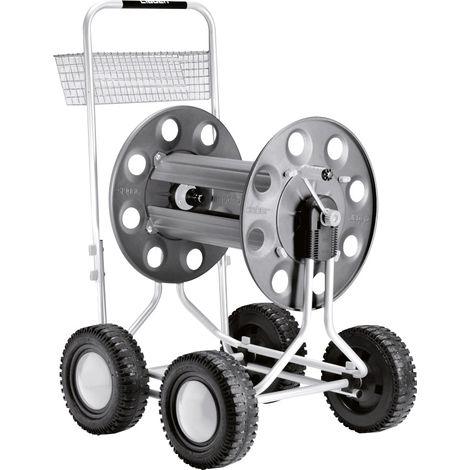 Chariot dévidoir à 4 roues - Jumbo - Claber