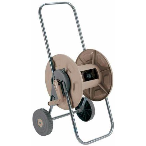 Chariot dévidoir à manivelle pour tuyau