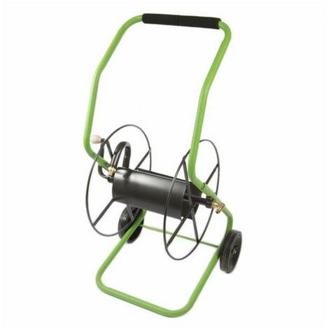 Chariot dévidoir nu forte capacité pour tuyau d'arrosage