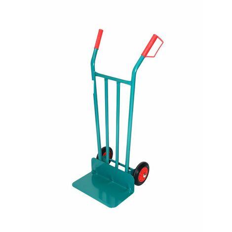 Chariot élévateur à fourche à longues roues pour le stockage Roue solide Disque métallique Acier Theca 2500052