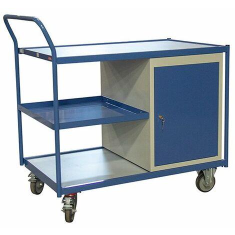Chariot établi avec placard - charge max 250 kg (plusieurs tailles disponibles)