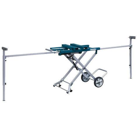 Chariot établi avec servantes et roues pour scies stationnaires MAKITA - DEAWST05
