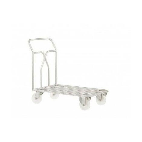 Chariot inox 304 alimentaire - Charge 400kg