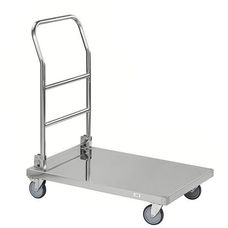 Chariot inox pliable - Charge max 250kg