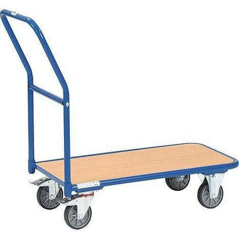 Chariot magasin 1200 Fetra Capacité 200 kg, surface de charge 850x450 mm