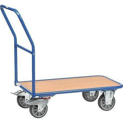 Chariot magasin 2102 Fetra Capacité 400 kg, surface de charge 1000x700 mm