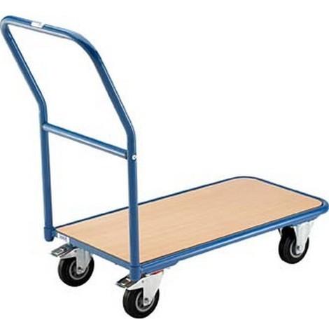 """main image of """"Chariot magasin, Capacité : 200 kg, Ø de roue 125 mm, Dimensions 1100 x 450 x 910 mm, Plateau : 850 x 450 mm, Poids propre : 15 kg"""""""