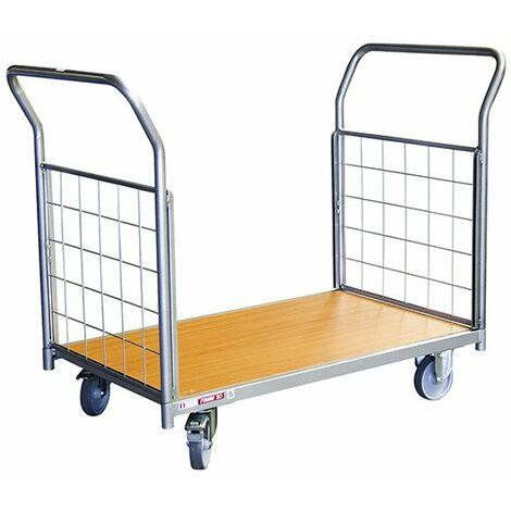 Chariot modulable à tube ou grillage - 250kg (plusieurs tailles disponibles)
