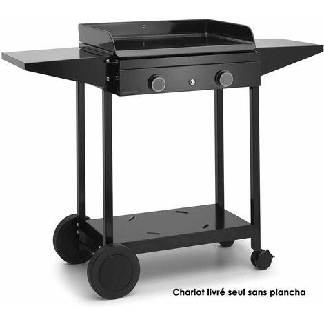 chariot pour plancha - choa60 - forge adour
