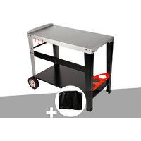 Chariot plancha en métal Sidelia + Housse - Somagic