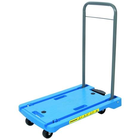 Chariot plateforme en polypropylène 100 kg
