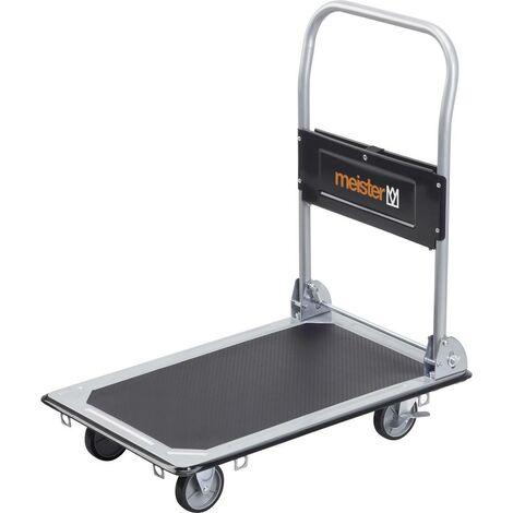 Chariot plateforme Meister Werkzeuge 8985530 pliable, avec espace de rangement acier Charge max: 150 kg 1 pc(s)