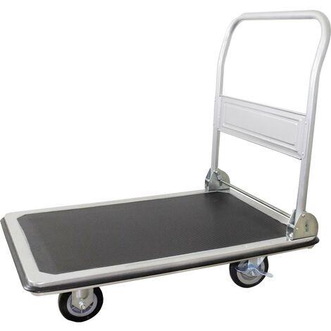 Chariot plateforme pro-bau-tec® 1499487 avec système de blocage, pliable Tôle dacier Charge max: 250 kg 1 pc(s)