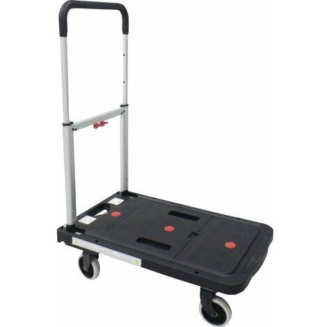 Chariot plateforme VISO RMP 600 pliable aluminium, plastique Charge max: 130 kg 1 pc(s)