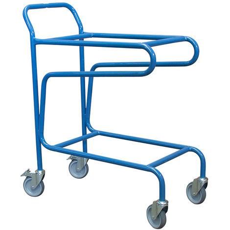 "main image of ""Chariot porte-bacs à couvercle - Charge max 100kg"""