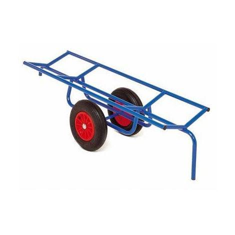 Chariot porte charge longue et cylindrique - 250kg