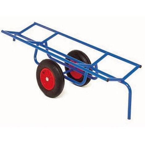 Chariot porte charge longue et cylindrique - charge max 400kg (plusieurs tailles disponibles)