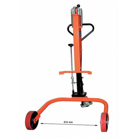 Chariot porte-futs hydraulique (plusieurs tailles disponibles)