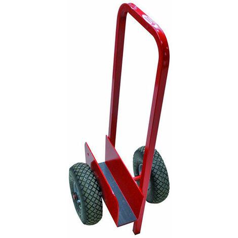 Chariot porte plaque tout terrain - charge max 150kg