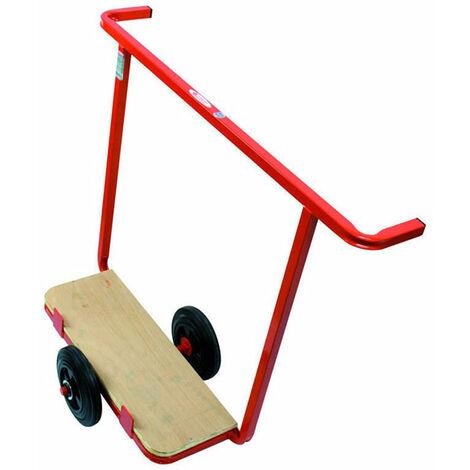 Chariot porte plaque tout terrain motorisé