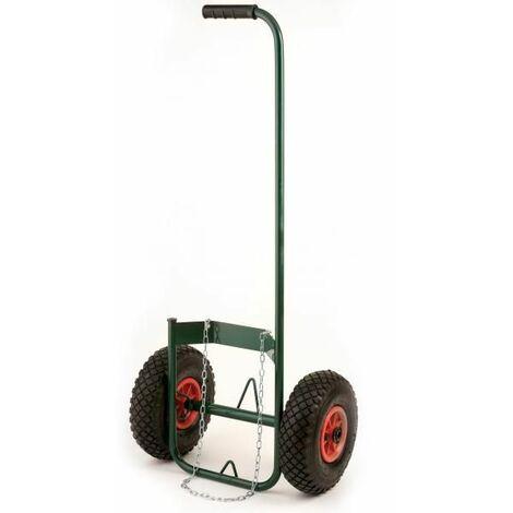chariot pour bouteille gaz roues gonflables - prox580002 - ribiland