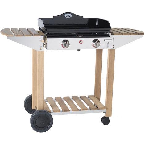 chariot pour plancha 60cm - 934600 - forge adour