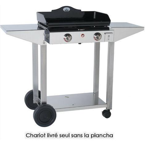 chariot pour plancha - 933600 - forge adour