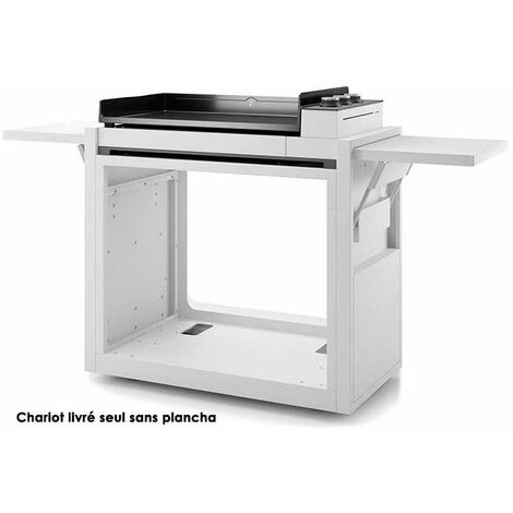 chariot pour plancha - chpa75 - forge adour
