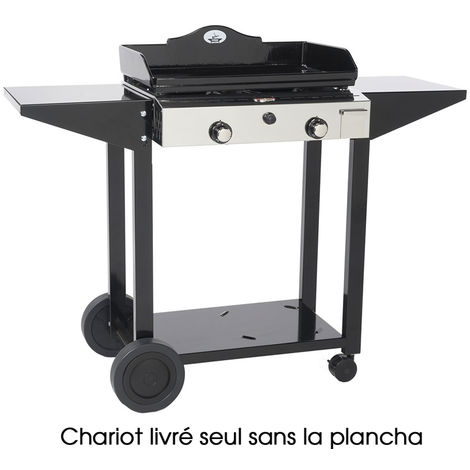 chariot pour plancha inox 935600 forge adour. Black Bedroom Furniture Sets. Home Design Ideas