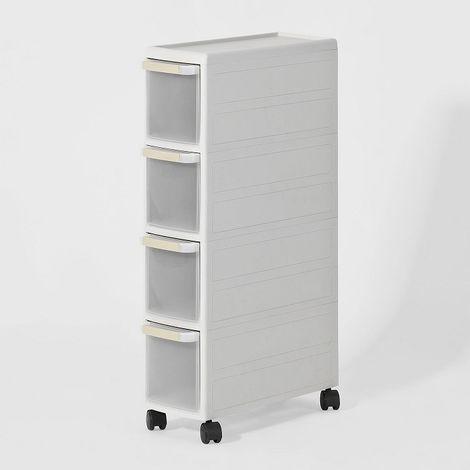 chariot pour rangement cuisine salle de bain tag re. Black Bedroom Furniture Sets. Home Design Ideas