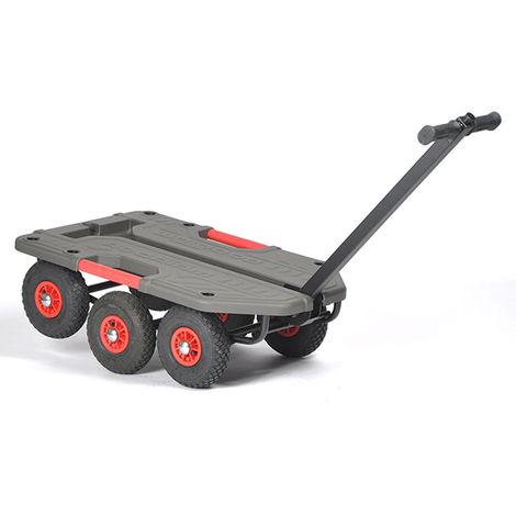 Chariot tout terrain - Charge max 250kg (plusieurs tailles disponibles)
