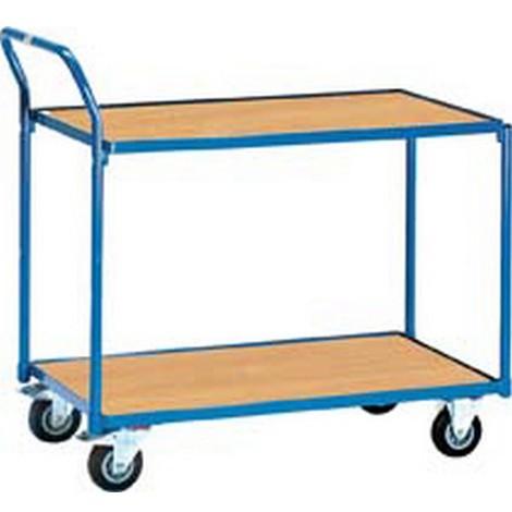 """main image of """"Chariots de transport légers, Capacité : 250 kg, Dimensions 980 x 509 x 1030 mm, Plateau 850 x 500 mm, Ø de roue : 125 mm, Poids : 29 kg"""""""