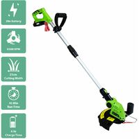 Charles Bentley 20V Cordless 2 in 1 Grass Trimmer And Edger