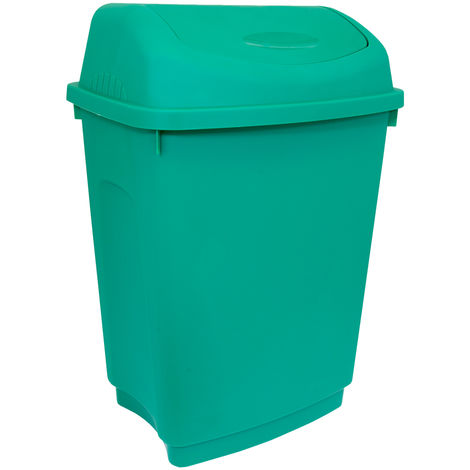Charles Bentley 50 litres Flip Top Rubbish déchets de cuisine Bin Divers Couleur