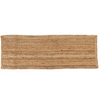 Charles Bentley 60X180cm 100% Natural Jute Hallway Runner Rug Mat Carpet