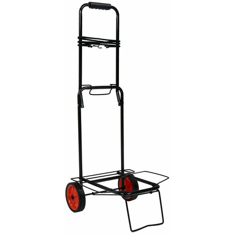 Charles Bentley Camping Folding Festival Trolley Lightweight 40Kg Load Weight