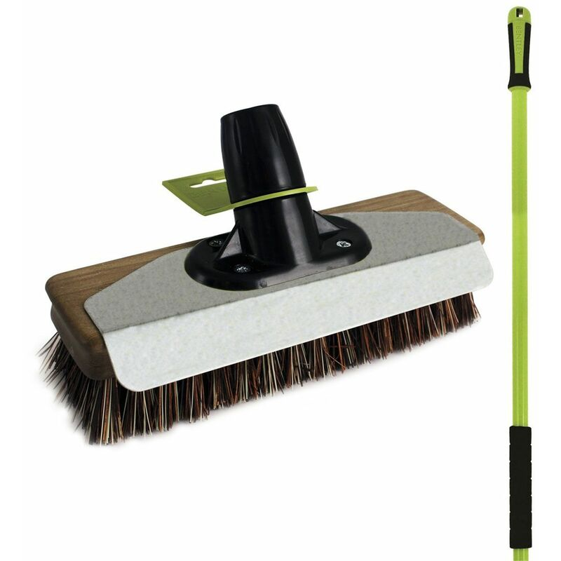 "Charles Bentley 14/"" Bulldozer Yard Broom Sweeper Heavy Duty Industrial"