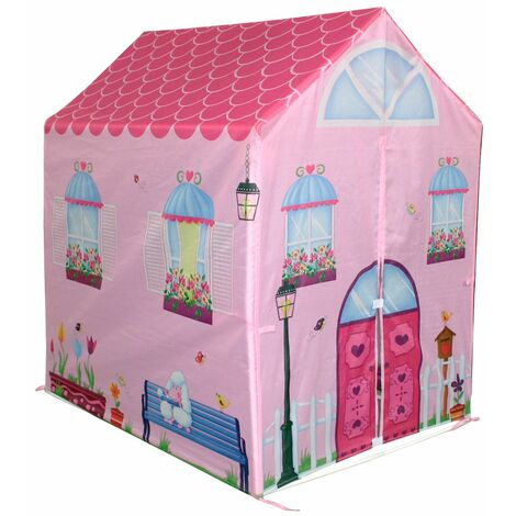 Charles Bentley Children's Playhouse/Wendyhouse Play Tent Pink - Pink