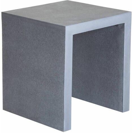Charles Bentley Fibre Cement Stool - Grey