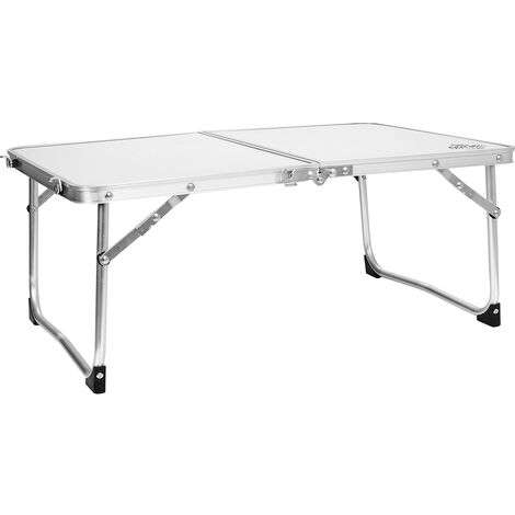 Charles Bentley Folding Lightweight Camping Low Picnic Table Garden Party