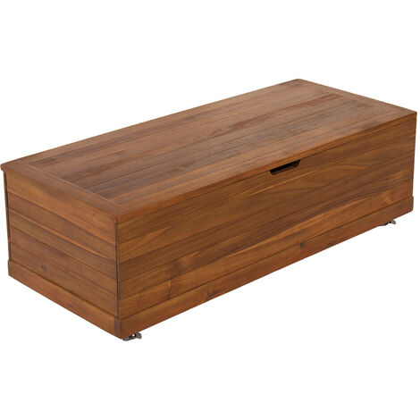 Charles Bentley FSC Acacia Outdoor Garden Storage Box