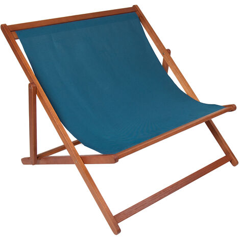 Charles Bentley FSC Eucalyptus Wooden Double Deck Chair