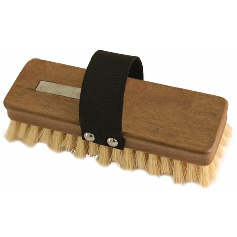 "Charles Bentley Garden 8"" Dexter Natural Fibre Cleaning Hand Scrub Brush"