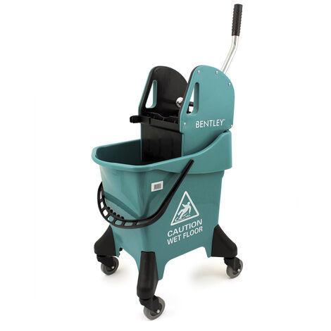Charles Bentley Heavy Duty 31 Litre Kentucky Mop Bucket With Wringer