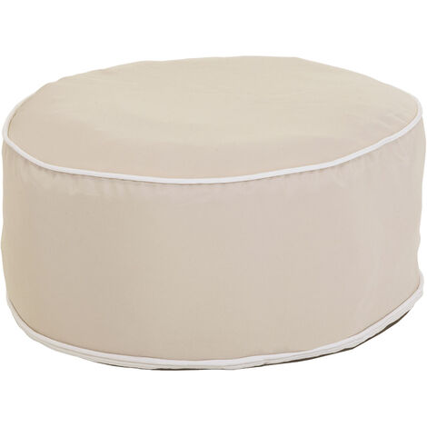 Charles Bentley Indoor/Outdoor Inflatable Foot Stool Pouffe Bean Bag